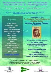 CARTEL A4 Exposición El Corte Inglés y presentacion   libro